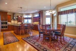 Large open kitchen & dinette access to patio and porch