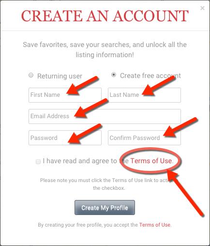 Create My Profile on DaneCountyMarket.com