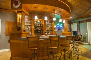 Custom Bar in finished lower level, 2191 Sugar River Rd, Verona, WI
